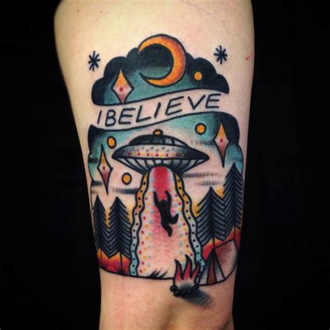 ufo tattoos designs ideas and meaning tattoos for you