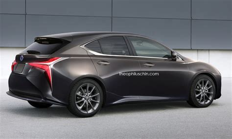 Modèles Lexus 2018 2018 lexus ct rendered with lf fc and nx styling cues