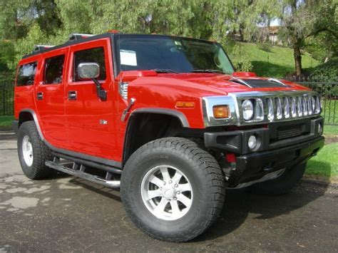 Hummer H2 Limited Edition by Victory 2004 Hummer H2 Limited Edition Paint Cross
