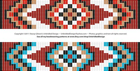 free loom square stitch graph find all of my beadweaving