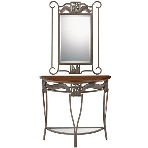 Entrance Mirrors And Tables Heron Entry Table And Mirror