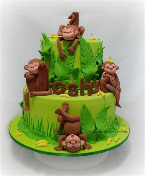 monkey template for cake 17 best ideas about fondant monkey on monkey