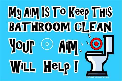 keep bathroom clean sign office kitchen cleaning fairy poem just b cause printable