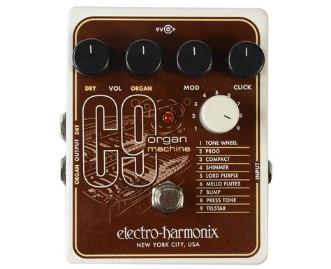 Electro Harmonix C9 Organ Machine electro harmonix ehx c9 organ machine c 9 guitar effects