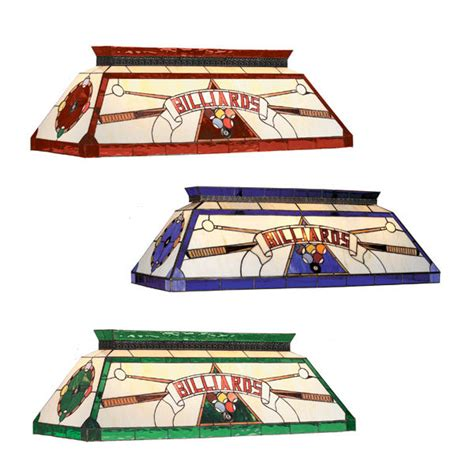 stained glass pool table light game room lighting stargate cinema