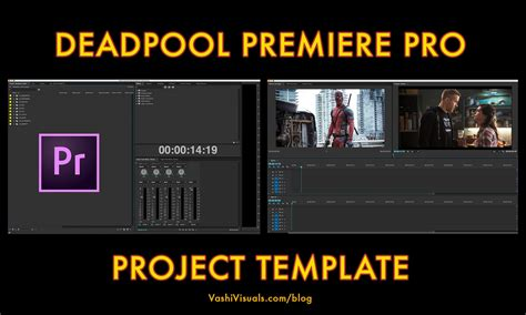 Deadpool Premiere Pro Project Template Adobe Premiere Pro Cs6 Templates