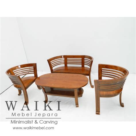 Mangkok Jati set kursi tamu mangkok model hotel dan rumah minimalis