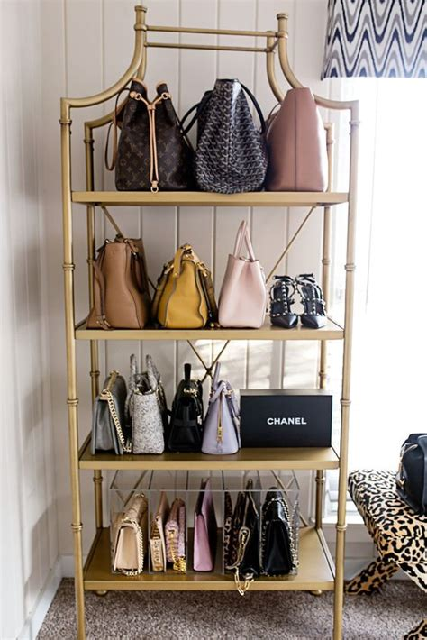 How To Organize Bags In Closet by 1000 Ideas About Handbag Storage On Purse