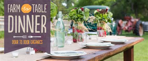 farm to table charity dinner venue change due to weather