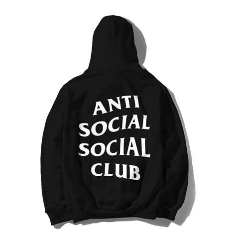 Assc Mind Zip Hoodie Black White Assc Original mind hoodie antisocialsocialclub