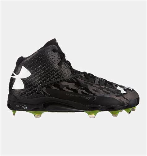 armour baseball shoes men s ua deception mid diamondtips baseball cleats