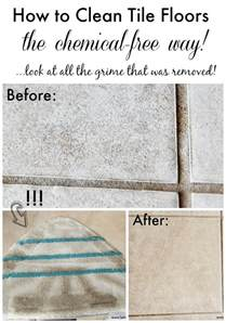 how to clean tile floors the chemical free way setting