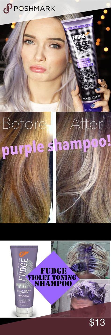 best purple toner for blonde hair best 25 fudge purple shoo ideas on pinterest grey