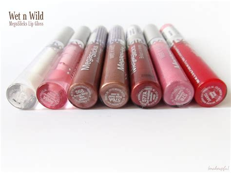 Daftar Lipgloss n mega slicks lip gloss bronze berry daftar