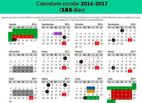 Calendario Dias Escuelas Privadas Con Calendario Escolar De 185 D 237 As