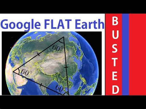 google earth ~ a flat plane map! | aplanetruth.info