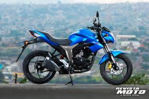Suzuki Gixxer 150 Suzuki Gixxer 150 2015 Con Toda Confianza Revista Moto