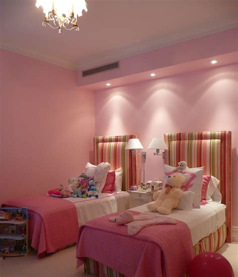 striped rooms striped kids headboards traditional girl s room the