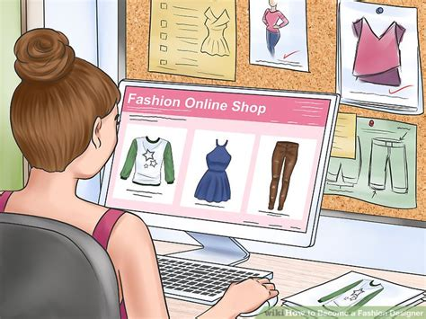 want to become a fashion designer youtube how to become a fashion designer 14 steps with pictures