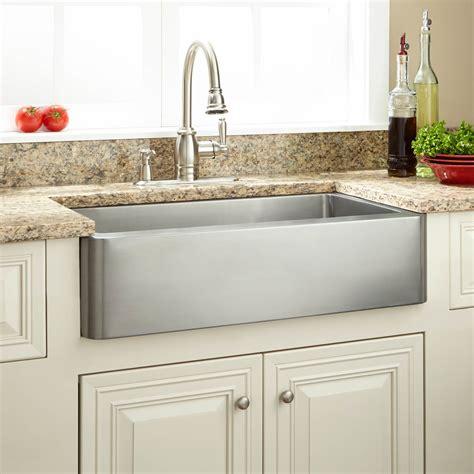 30 farmhouse sink signature hardware 30 quot hazelton stainless steel retrofit farmhouse sink ebay