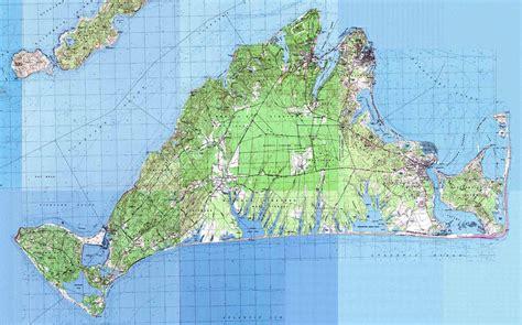 printable road map of martha s vineyard maps to 22 vickers way