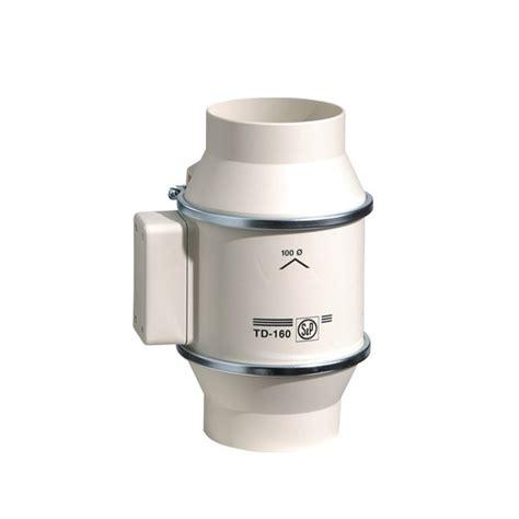 extracteur axial s p td 160 diam 100 mm 190 m3 h