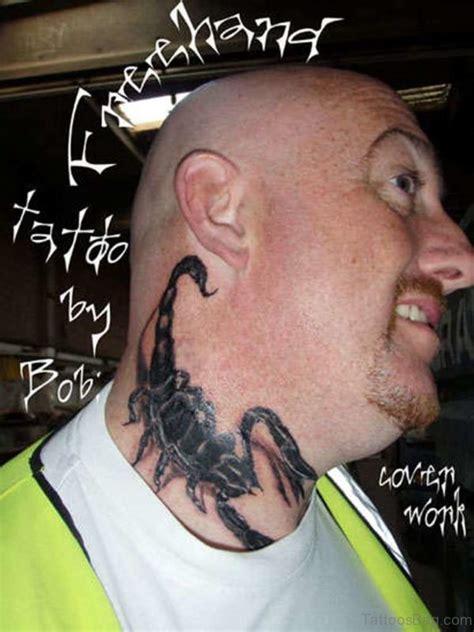 tattoo scorpion neck 29 great scorpion tattoos on neck