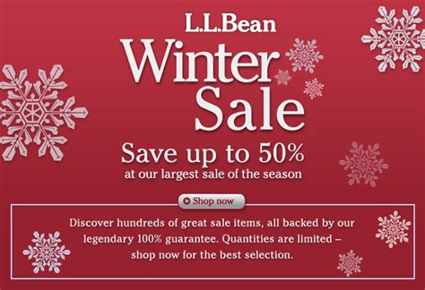 Ll Bean Gift Cards For Sale - save up to 50 at our largest sale of the season
