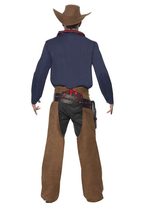 back of a men s rodeo cowboy costume