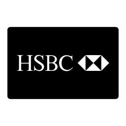 hsbc symbol hsbc paying card logo