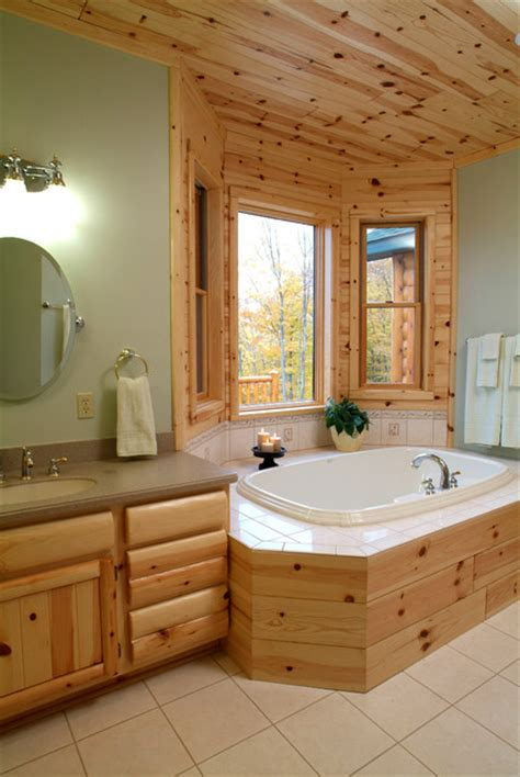 tongue and groove bathroom furniture knotty pine master bathroom rustic bathroom other