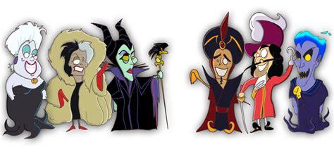 Disney Villains by MessyPandas on DeviantArt