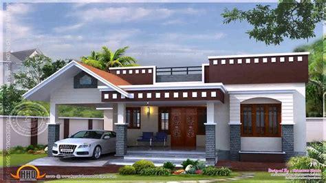 kerala style single floor house plans  elevations