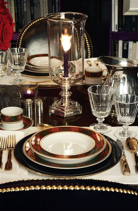 ralph lauren black white dining room tablescapes holiday dinner party looks we love shrewd and savvy