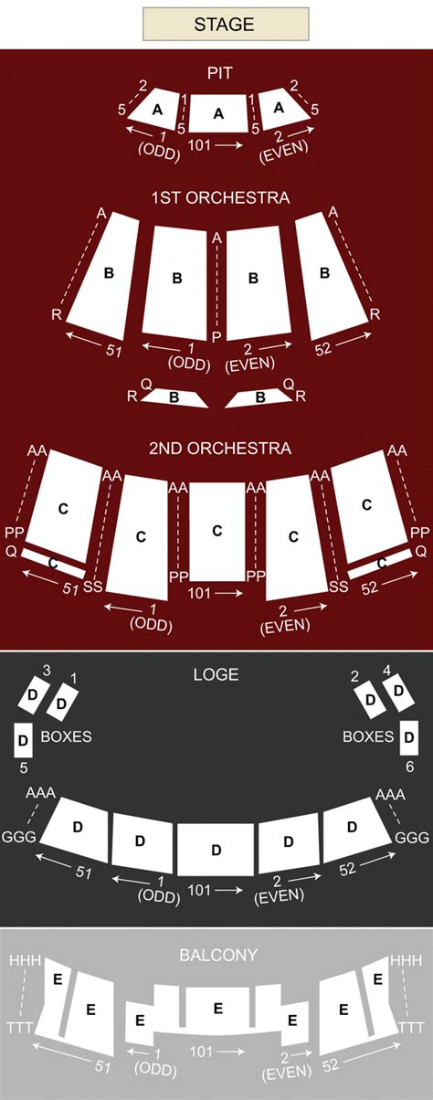 moran theater jacksonville fl seating chart stage