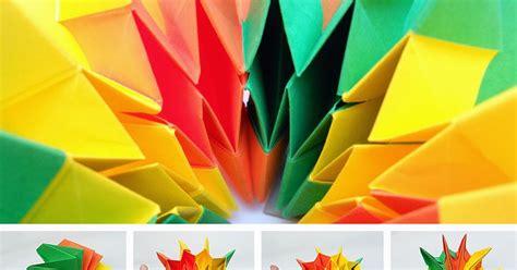 Origami Fireworks - origami maniacs origami firework by yami yamauchi