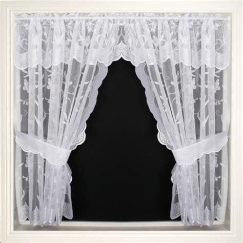 window net curtains net window sets lilly jardiniere uk net