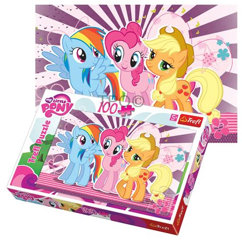 Best Terlaris Puzzle Jigsaw Frozen 100 Pcs Sni trefl 100 my pony rainbow dash