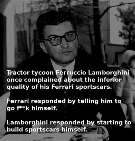 ferruccio lamborghini quotes quotes by ferruccio lamborghini like success