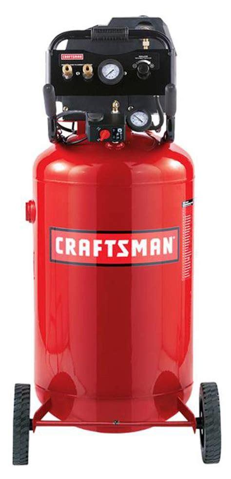 craftsman wlb  gallon vertical portable air