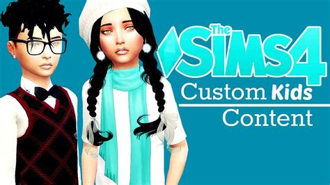 sims 4 custom content toddler custom content kids hair sims 4 hairstylegalleries com