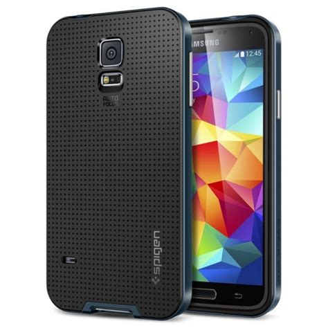 Neo Hybrid Series For Samsung Galaxy S5 Blue neo hybrid series tpu polycarbonate combination for