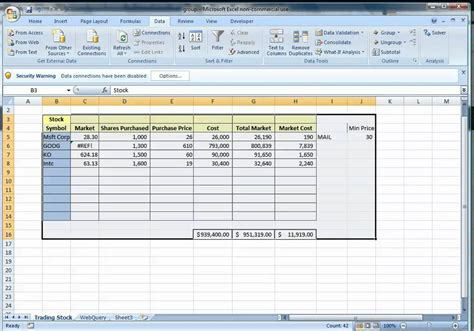 The Automated Spreadsheet Using Excel Youtube Use Template Excel