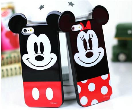 Ear Micky Softcase For Iphone 4 4s 5 5s 5e Samsung Note 3 mickey mouse iphone 5 chinaprices net