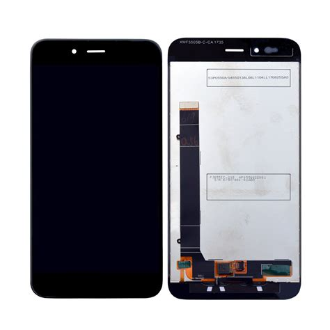Lcd Xiaomi A1 original xiaomi mi a1 lcd display and touch screen replacement in india at best price black