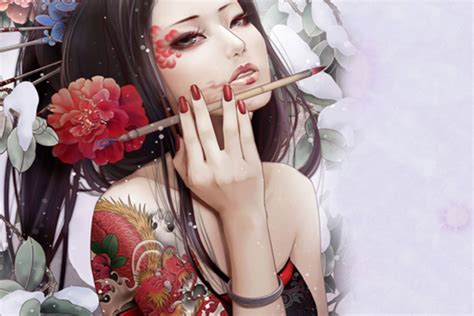 japanese tattoo girl wallpaper tattoo wallpapers part 3 tattoo wallpapers