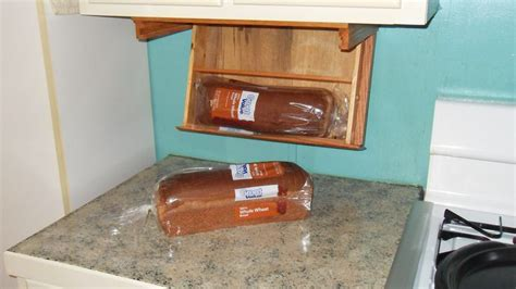 under cabinet bread box under counter bread box american made wood products