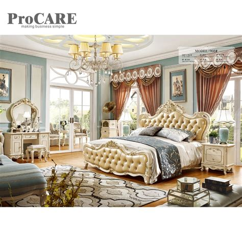luxury  bed designs  cheap price bed latest bedroom furniture   bedroom sets