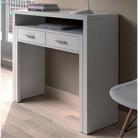 escritorio extensible mesa de ordenador escritorio extensible color blanco
