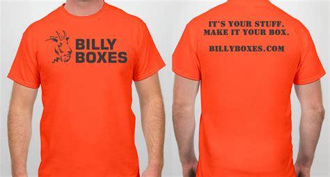 Tshirt Orange t shirt orange billy boxes